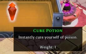 Cure Potion