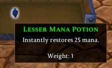 Lesser Mana Potion