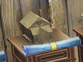 Wood House Mahogany blueprint