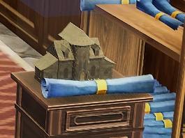 Wood House Mayor blueprint