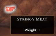 Stringy Meat