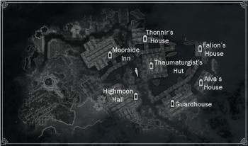 Karte von Morthal