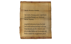 Master Aventus Aretino, Jarl Ulfric Stormcloak wishes to express his deepest sympathies at the death of your mother, Naalia. Unfortunately, because you are fatherless, and have no other known relations, the jarl cannot allow you to remain in your home unsupervised. Therefore, in no more than a week's