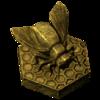 Statue einer Bienenkönigin