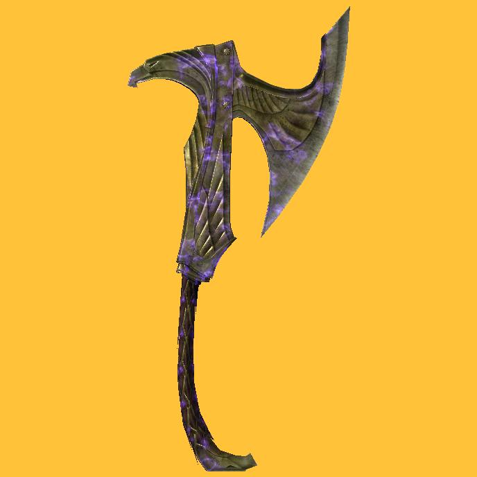 Elven War Axe Of Binding