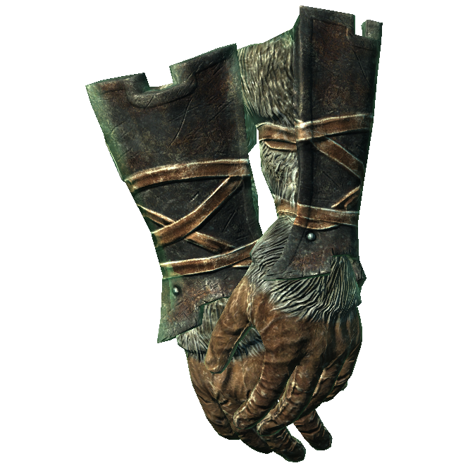 Iron Gauntlets of Major Smithing - Skyrim Wiki