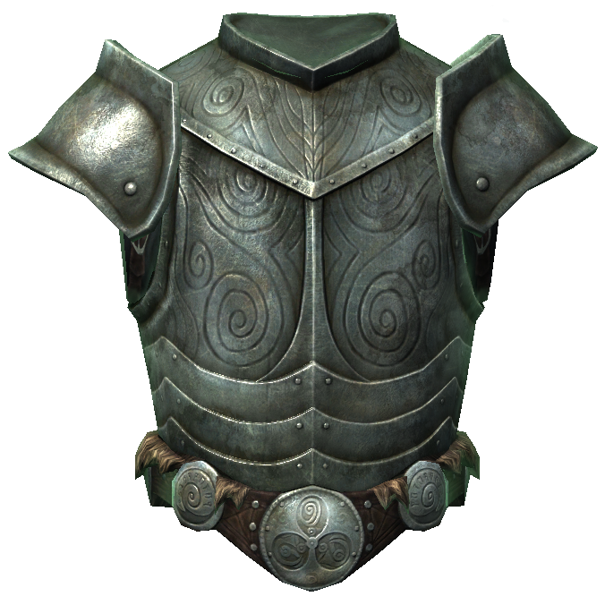 Steel Plate Armor Of The Knight