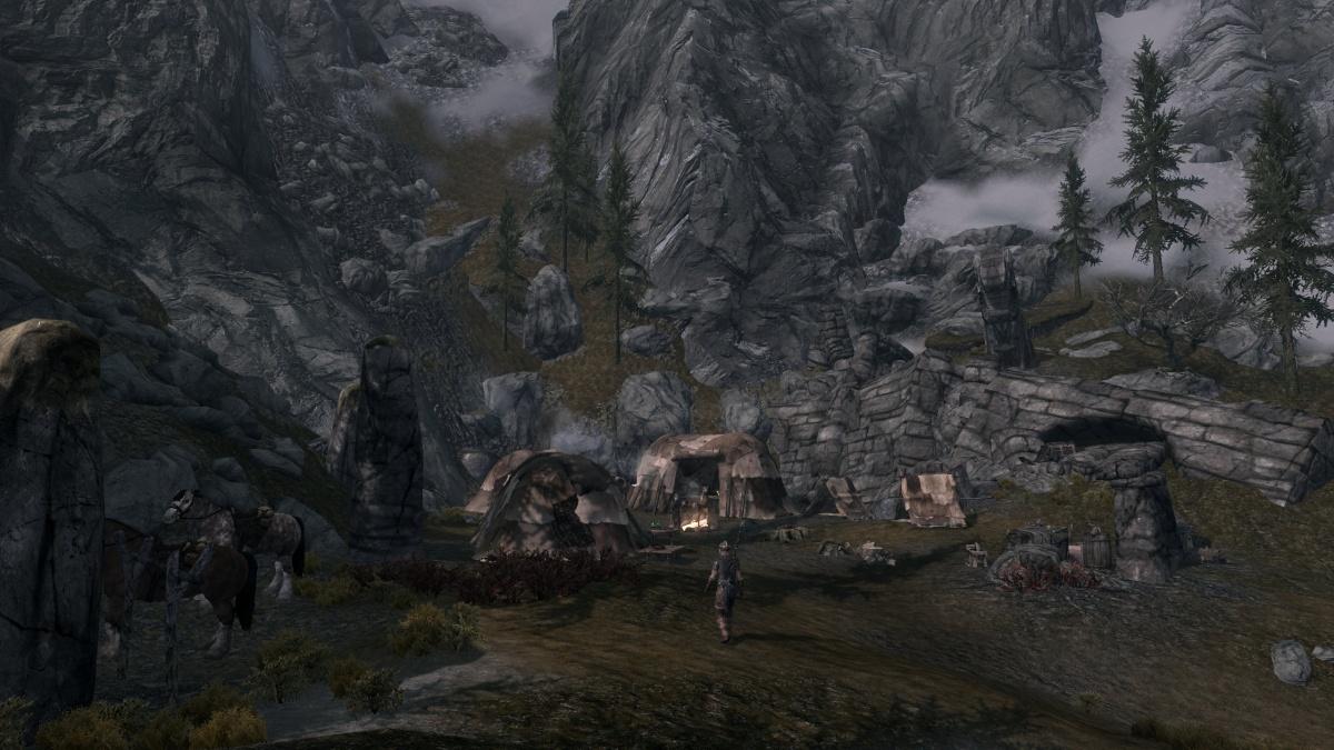 Whiterun Stormcloak Camp Skyrim Wiki