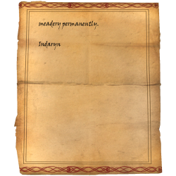 meadery permanently. / Indaryn