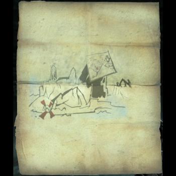 Velehk Sain\'s Treasure Map - Skyrim Wiki