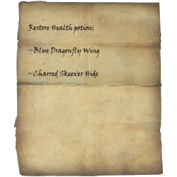 Restore Health Potion Recipe Skyrim Wiki