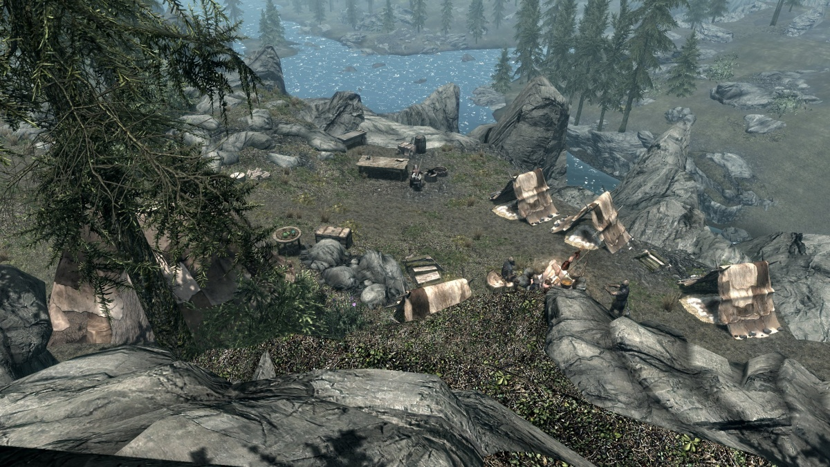 Falkreath Stormcloak Camp Skyrim Wiki