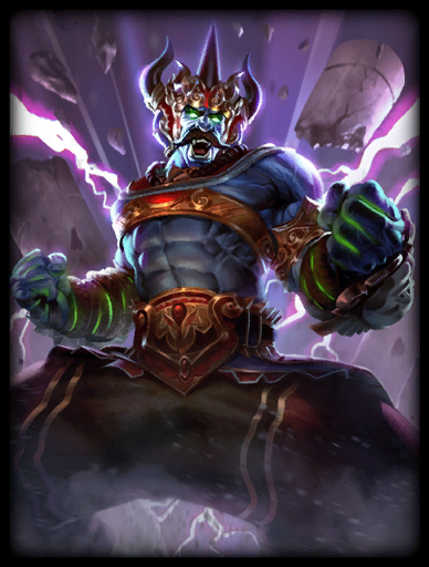 Demon King Skin card