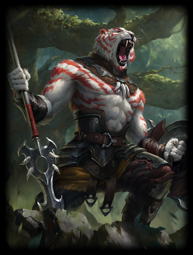 Tiger's Fury Skin card