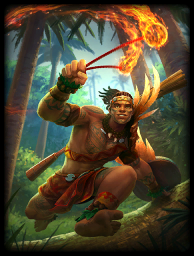 Fire Dancer Skin card