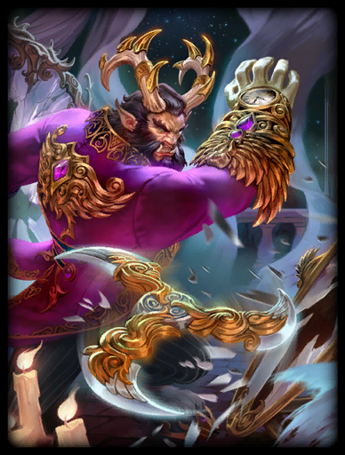 Cursed King Skin card