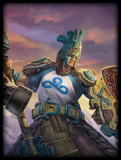 Cloud9 Skin card