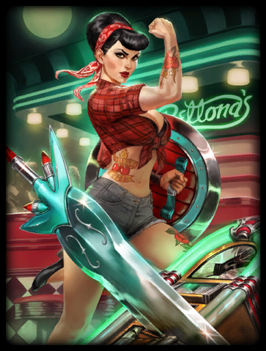 Rock-A-Bellona Skin card