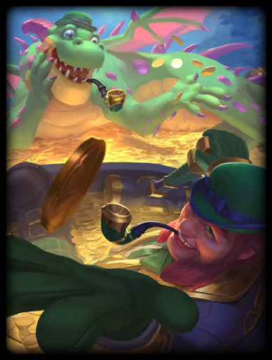 Pot O'Gold Skin card