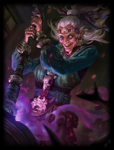 Grim Mother Skin card