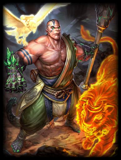 Sun Wu Xing Skin card