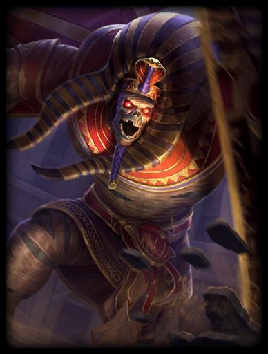 Pharaoh's Curse Skin card