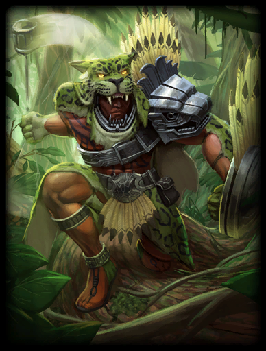Jungle Beast Skin card
