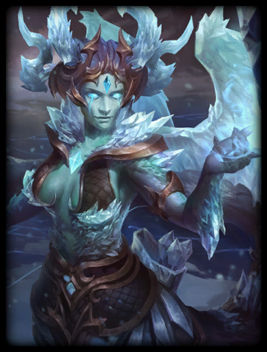 The Frost Gorgon Skin card
