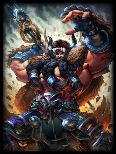 Mountain Man Skin card