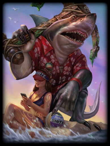 Land Shark Skin card