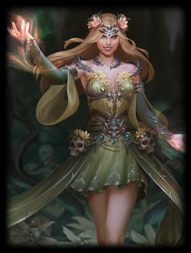 Withering Bloom Skin card