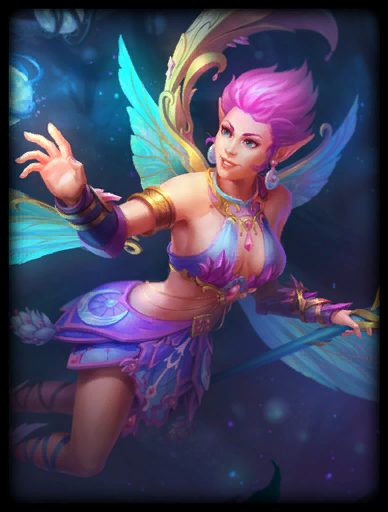 Crystal Fae Skin card