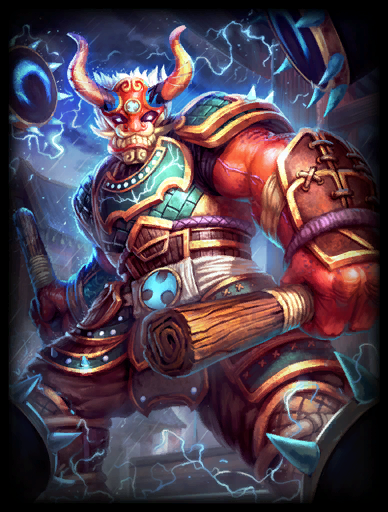 Thunder's Roar Skin card
