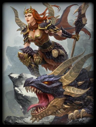Dragonkin Skin card
