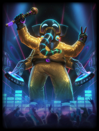 DJ Ohm Skin card