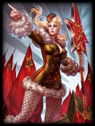 Red Star Skin card