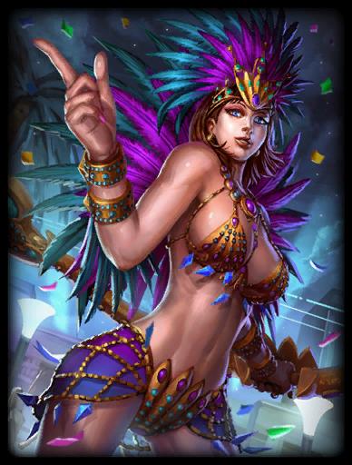 Carnaval Queen Skin card