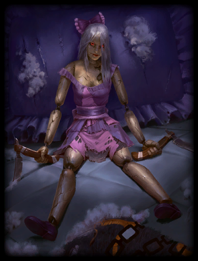 Dreadful Doll Skin card