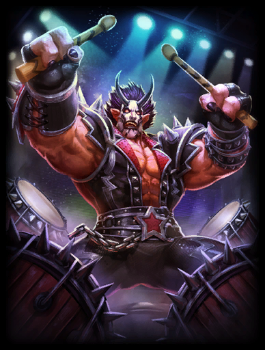Devil Horns Skin card