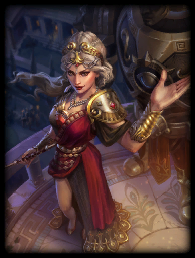 Crimson Queen Skin card