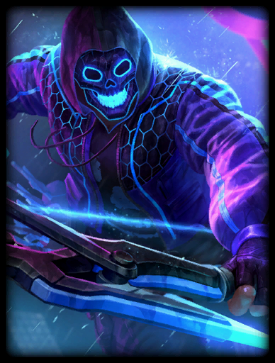 Neon Rebellion Skin card