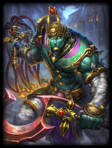 Lord of Silence Skin card