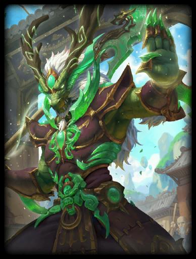 Jade Dragon Skin card