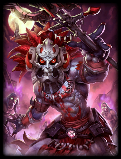 Death Mask Skin card