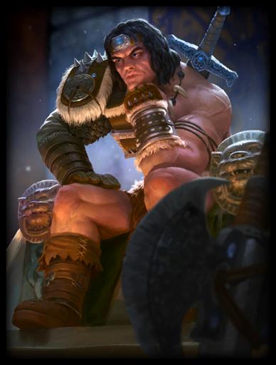 Barbarian Skin card