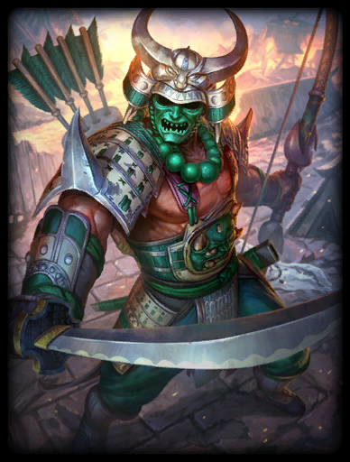 Shogun Skin card