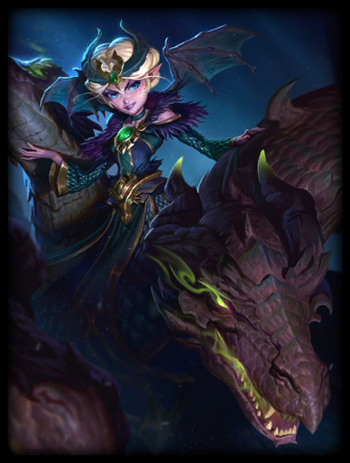 Dragon Queen Skin card