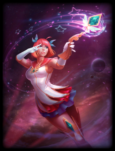 Mystic Defender Skin card