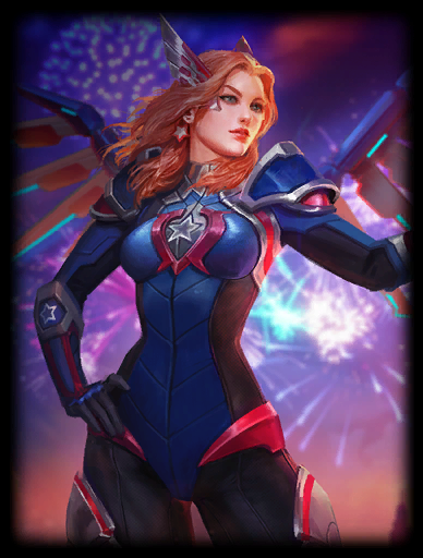 Star Spangled Skin card