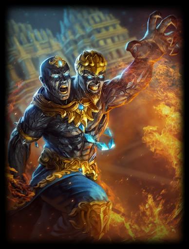 Golden Skin card